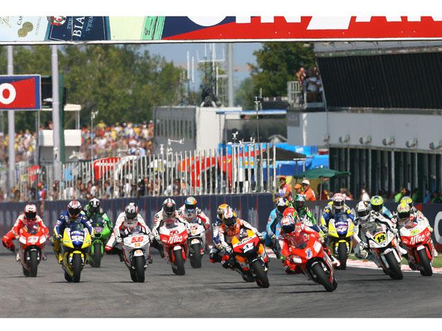 Imagen de Galeria de GP San Marino: las motos en TVE