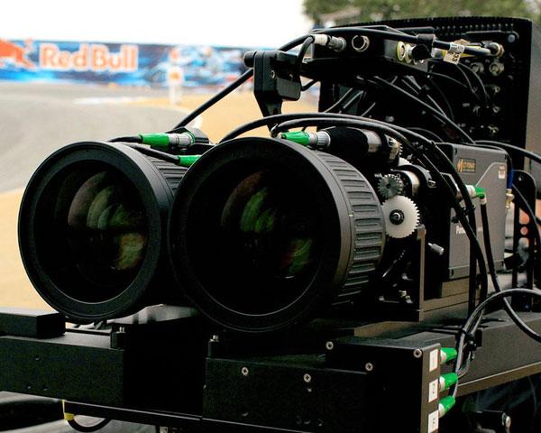 Lorenzo vio en Indianápolis el vídeo del GP de Laguna en 3D