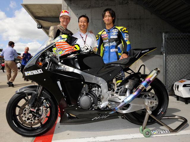 Moriwaki MD600, la Moto2 japonesa rodó en Indianápolis