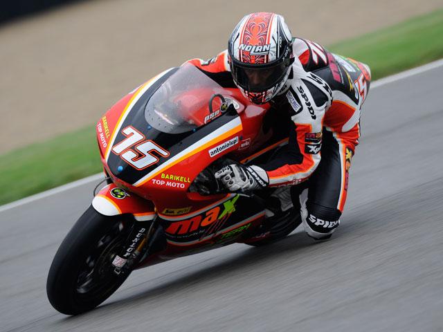 Barberá arrasa en los libres del GP de Misano