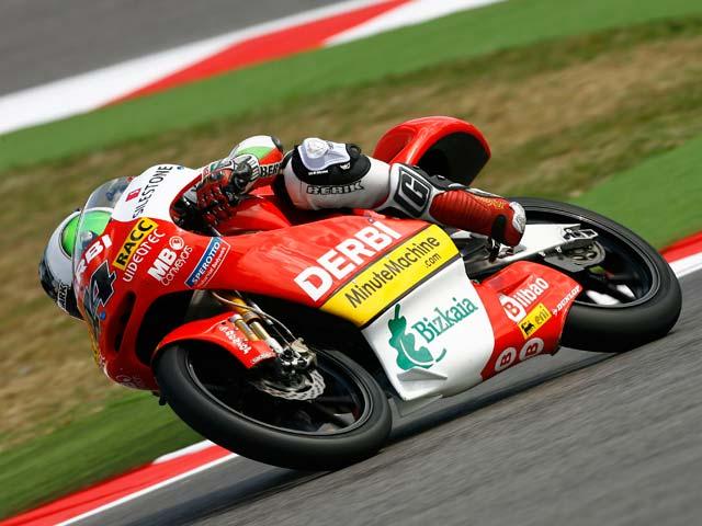 Julián Simón, victoria en el GP de Misano. Más líder del Mundial de 125