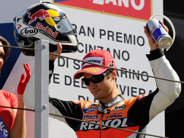 """Valentino Rossi: """"Hoy el burro ha volado"""""""