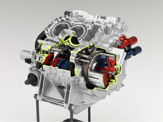 Honda presenta oficialmente su transmisión doble embrague para motos deportivas