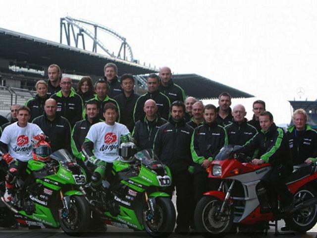 25 años de la Kawasaki Ninja