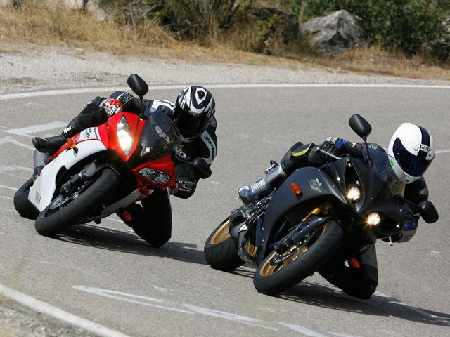 Comparativa Yamaha R1 vs Yamaha R6