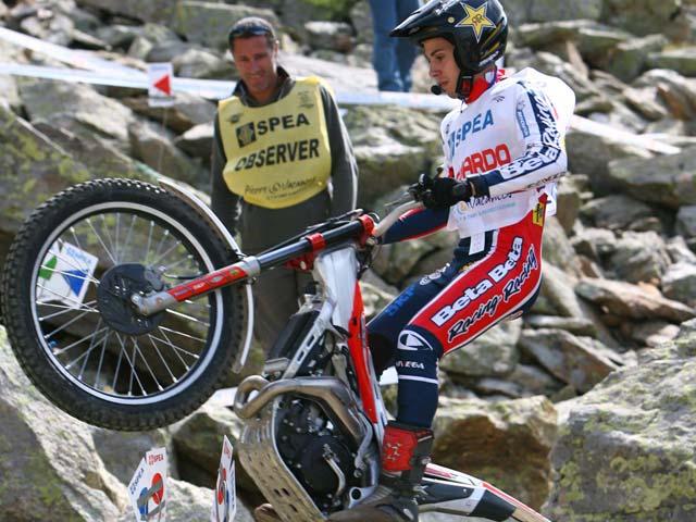 """Jeroni Fajardo: """"He conseguido buenos resultados en la temporada de trial"""""""