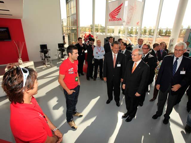 Honda inaugura su Instituto de Seguridad para motos