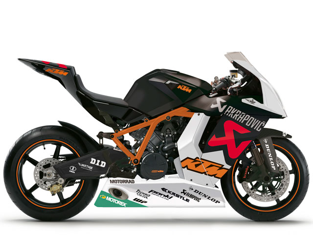 KTM 1190 RC8R Akrapovic Race Replica