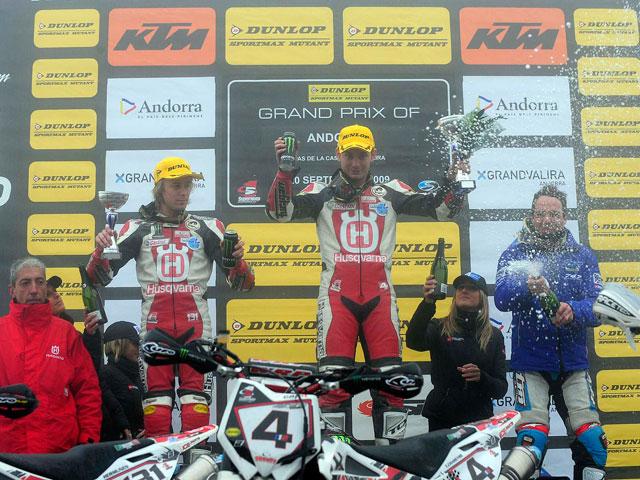 Dominio de los hermanos Chareyre en el GP de Andorra