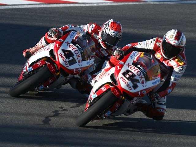Ducati Xerox renueva a Haga y Fabrizio