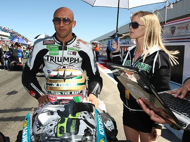 Chaz Davies ficha por Triumph en el Mundial de Supersport