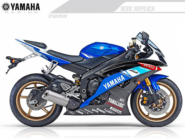 Yamaha YZF-R1 y R6 réplicas Spies y Crutchlow