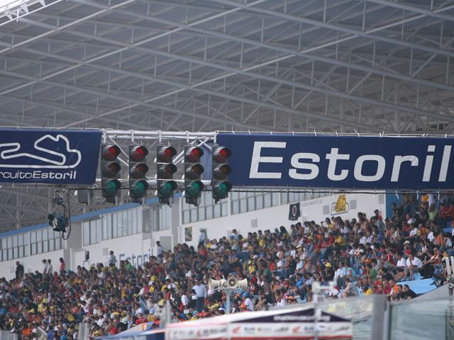 GP de Estoril, como en casa