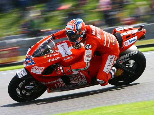 Stoner estará seguro en el GP de Portugal de MotoGP