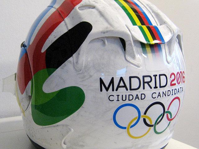Fonsi Nieto apoyará a Madrid 2016 en Magny-Cours