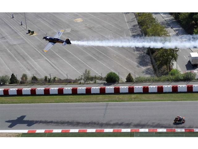 Imagen de Galeria de Dani Pedrosa, duelo aire- tierra con Alejandro Maclean