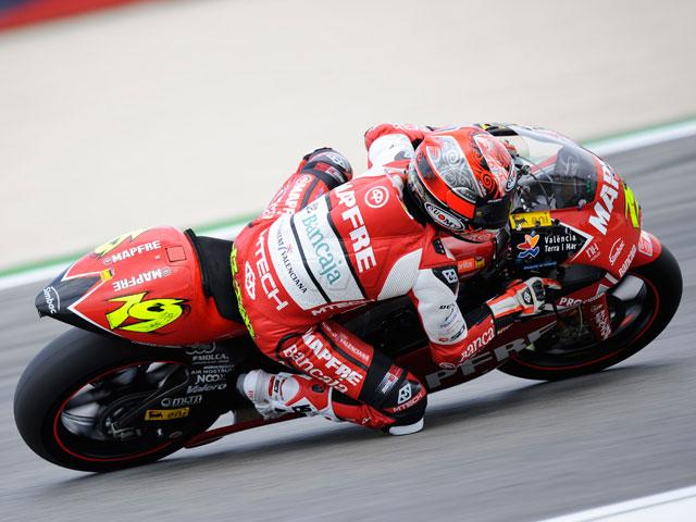 Héctor Barberá, el más rápido de 250cc en Portugal