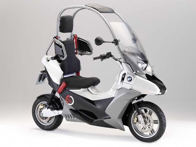 Scooter eléctrico: BMW C1-E