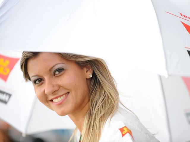 Las chicas del GP de Portugal