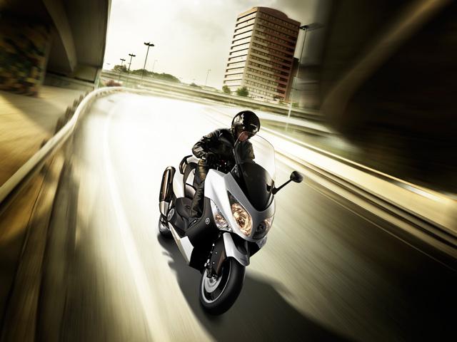 Novedades 2010: Yamaha T Max Whitemax