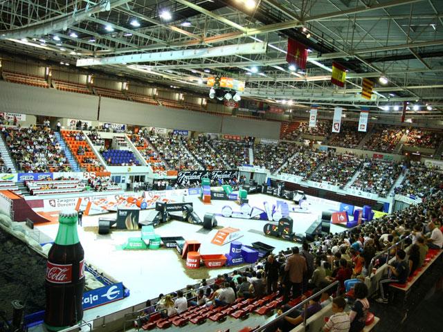 Toni Bou arrasa en el Campeonato de España de Trial Indoor de Zaragoza