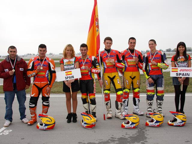 Supermotard de las Naciones: Vence Alemania, España en Junior