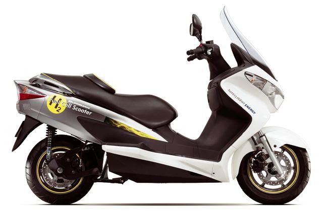 Nuevo Suzuki Burgman Fuel-Cell