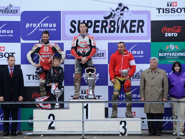 Ivan Lazzarini se impone en el Superbiker de Mettet