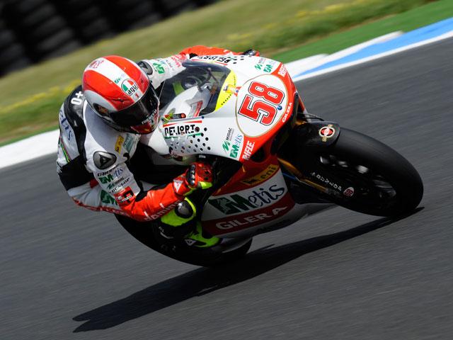 Raffaele de Rosa logra la pole de 250cc en Australia