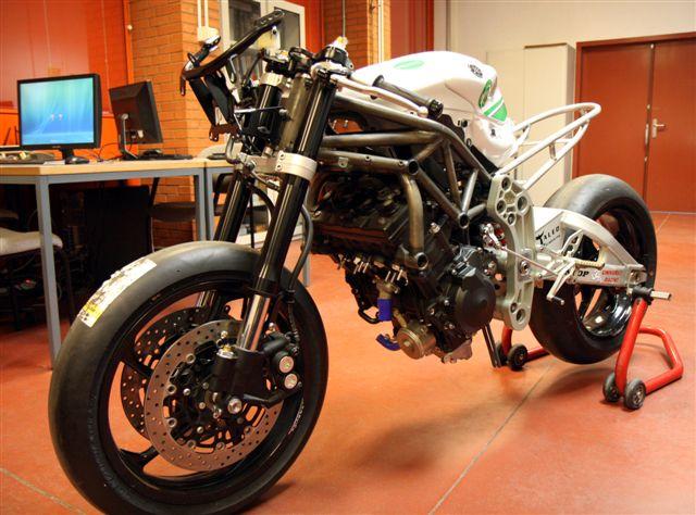 La Moto2 de la Universidad Carlos III de Madrid