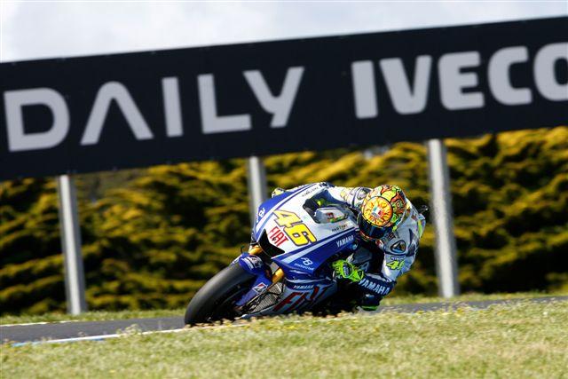 Imagen de Galeria de A Rossi (Yamaha) le basta un cuarto para ser campeón