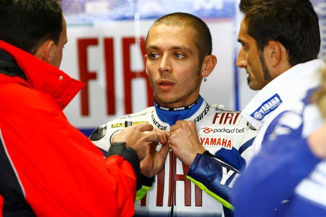 A Rossi (Yamaha) le basta un cuarto para ser campeón