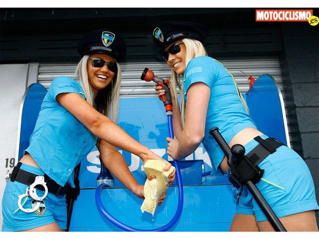 Las chicas del GP de Australia