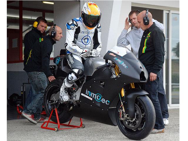 Imagen de Galeria de Inmotec GPI 10, la primera MotoGP española