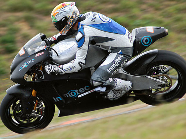 Inmotec GPI 10, la primera MotoGP española