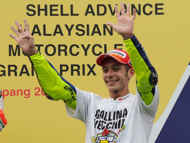 Valentino Rossi sigue batiendo todos los récords del Mundial de Motociclismo