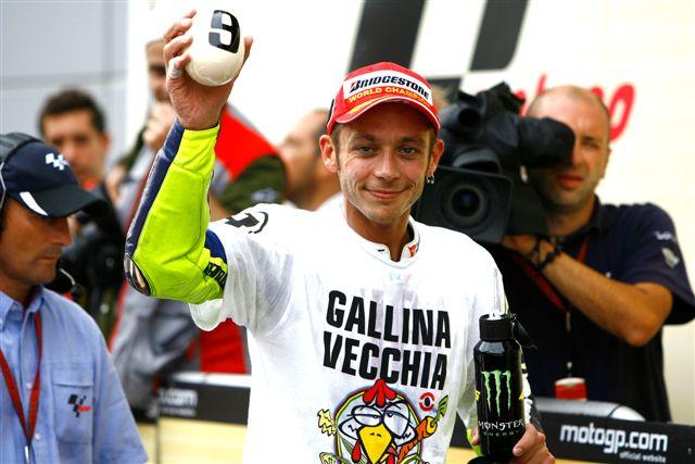 """Rossi, campeón de MotoGP: """"Lorenzo me ha empujado a subir el listón al máximo"""""""