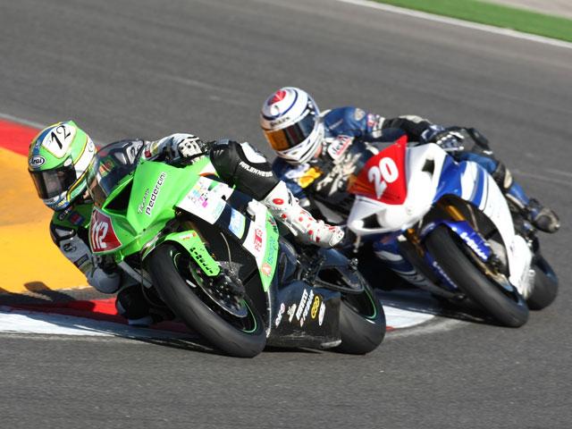 Gino Rea, campeón de Superstock 600