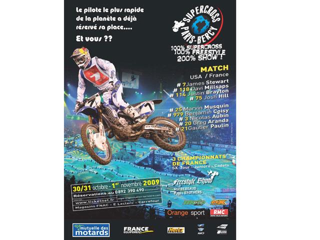 James Stewart, favorito en el Supercross de París