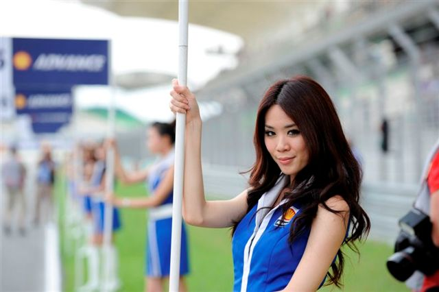 Las chicas del GP de Malasia