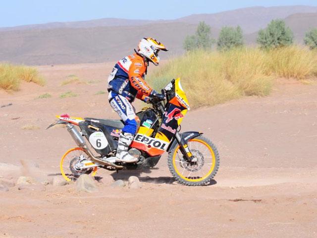 Victoria de Marc Coma en la quinta etapa del Rally de Marruecos