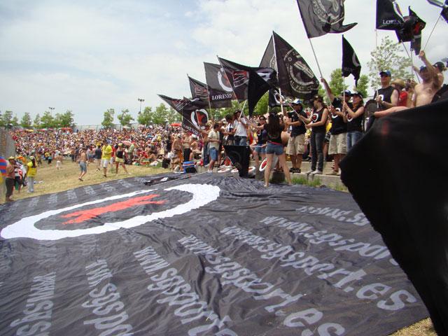 Imagen de Galeria de Los fans de Jorge Lorenzo tomarán el GP de Valencia