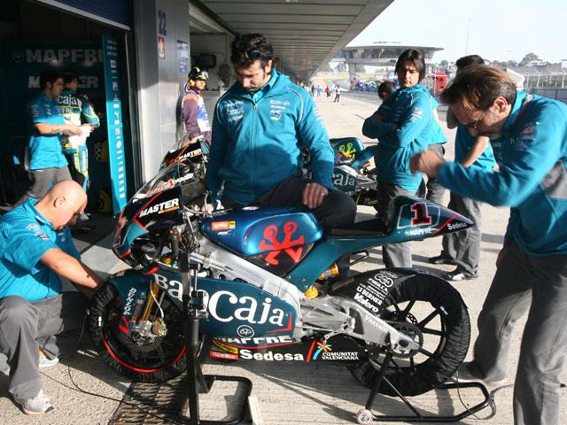 El GP de Valencia con el Team Bancaja Aspar