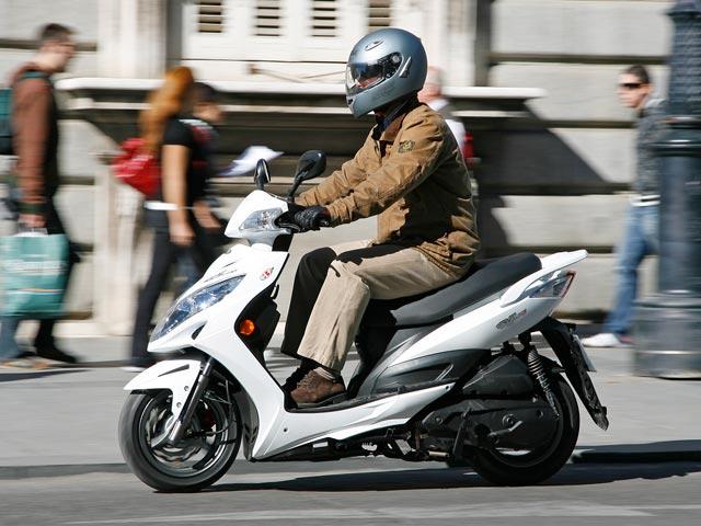Imagen de Galeria de KYMCO G5, un nuevo scooter 125