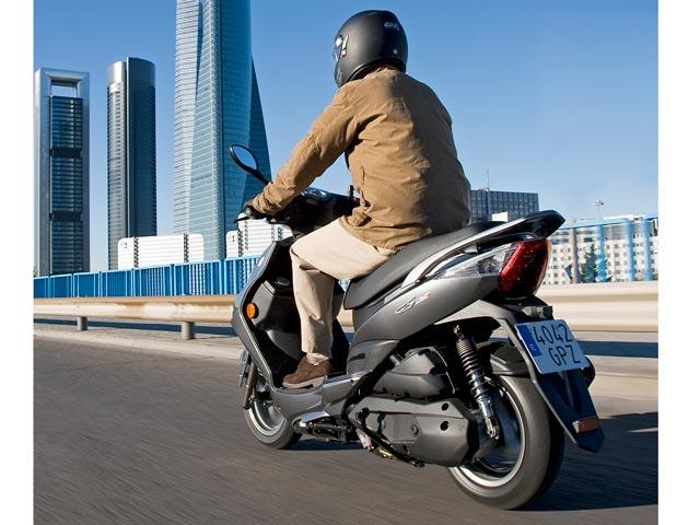 KYMCO G5, un nuevo scooter 125