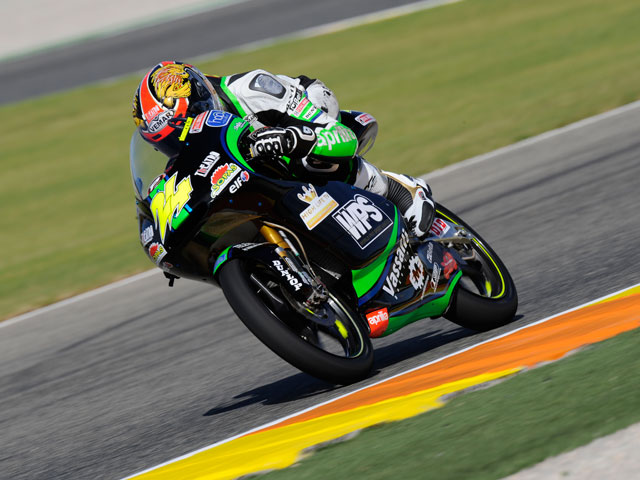 Julián Simón, última pole de la temporada en el GP de Valencia