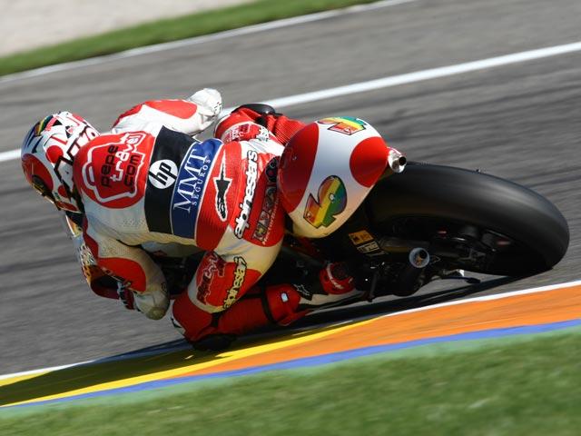 Imagen de Galeria de Aoyama, campeón del mundo de 250. Victoria de Barberá en el GP de Valencia