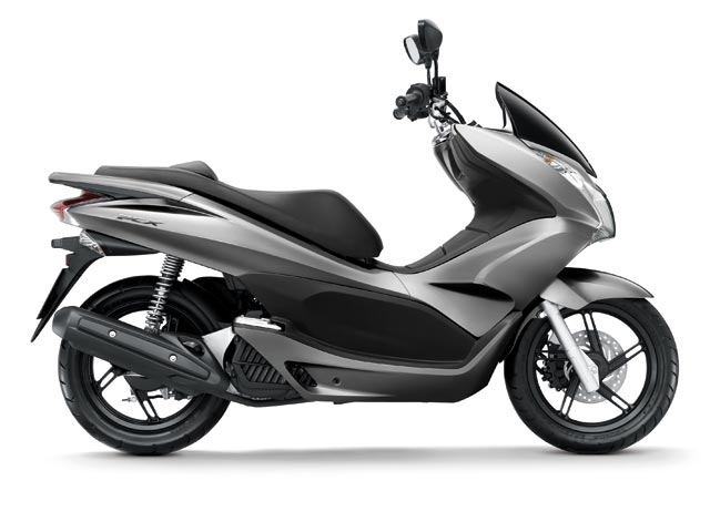 "Honda PCX, scooter 125 con ""stop and go"""