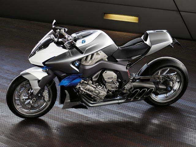 BMW Concept 6, una moto de seis cilindros en línea