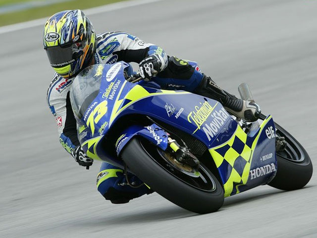 Hiroshi Aoyama, el último campeón de 250 cc